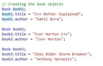 Creating book objects