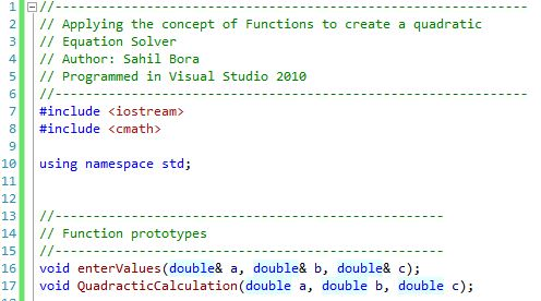 functions part 1